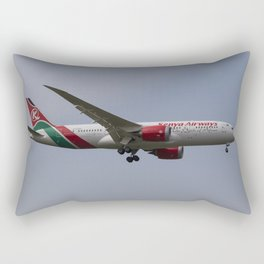 Kenya Airways Boeing 787 Rectangular Pillow