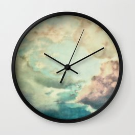 Stormy sky Wall Clock