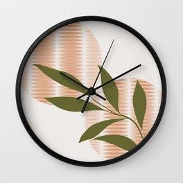Abstract and organic Wall Clock