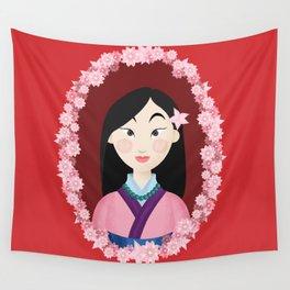 Mulan  Wall Tapestry