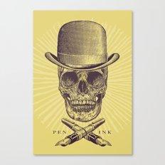 Dead Artist Canvas Print