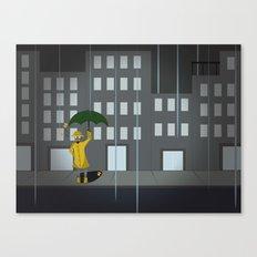 April Robot Canvas Print