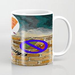 Trumpty Dumpty sat on a wall Coffee Mug