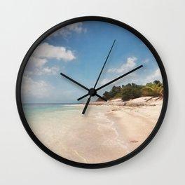 BVI Blues Wall Clock