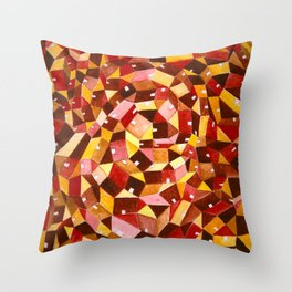 Home in June Throw Pillow