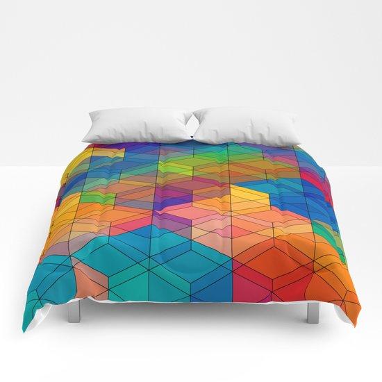 Cuben Intense No.2 Comforters