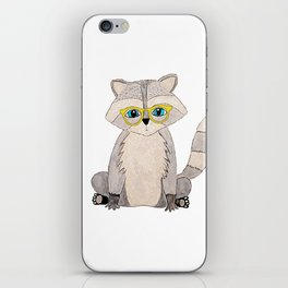 Littl Racoon iPhone Skin