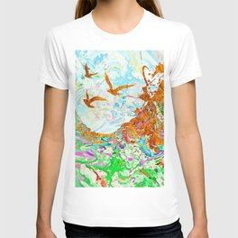 Golden Birds T-shirt