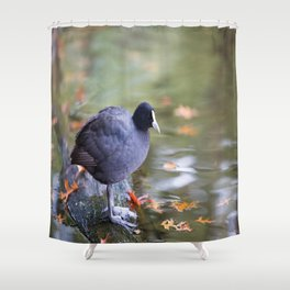 April Stand Shower Curtain