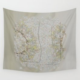 Preadoption Roughness Flowers  ID:16165-144834-10211 Wall Tapestry