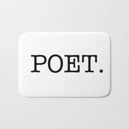 POET. Bath Mat