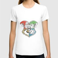 hogwarts T-shirts featuring Hogwarts Houses by Vagalumie