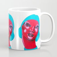 bubble Mugs featuring BUBBLE by Zelda Bomba