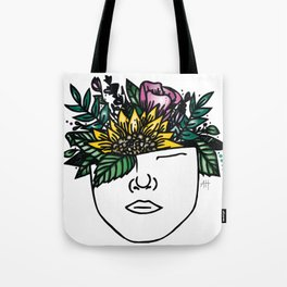 Thoughtful (Color) Tote Bag
