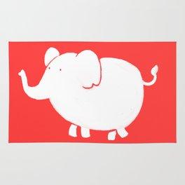 White Elephant Rug