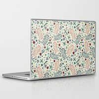 flora Laptop & iPad Skins featuring Flora by Anna Deegan