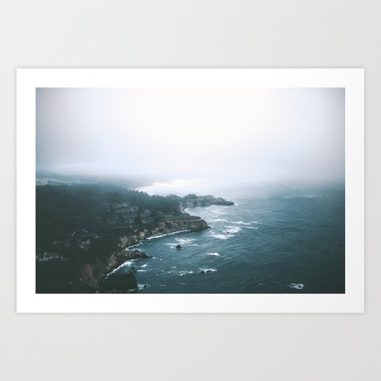 Cape Foulweather Art Print