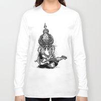 ali gulec Long Sleeve T-shirts featuring Ali Jamma by PRESTOONS / Art by Dennis Preston