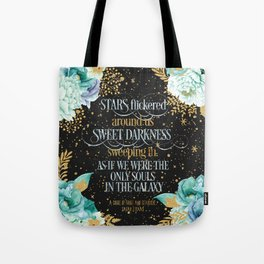 A Court of Frost and Starlight - Sarah J Maas Tote Bag