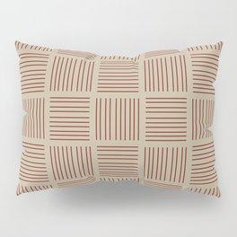 Spirit Desert Stripe - Red Pillow Sham