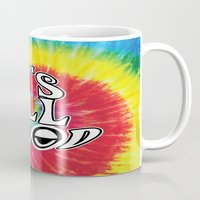 hippy Mugs featuring Hippy by Top Head Culture