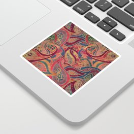 Paisley pattern Sticker