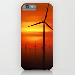 Clean Power (Digital Art) iPhone Case