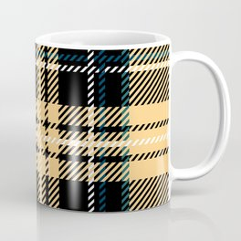 Traditional Oatmeal Tartan. Coffee Mug