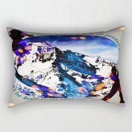 Nina and Matthias - Protect Rectangular Pillow