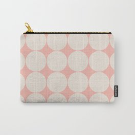 Circular Minimalism - Pastel Pink Carry-All Pouch