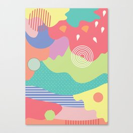 Full of colour Canvas Print