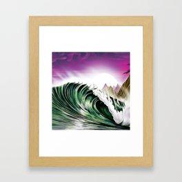 Midnight In Kauai Framed Art Print