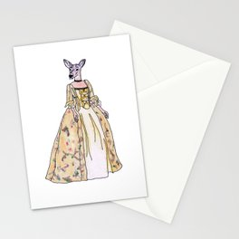 Lady Deer Stationery Cards