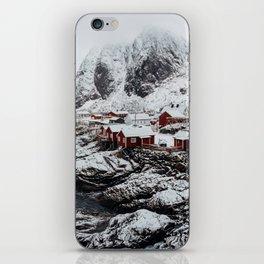 Mountain Village In Norway iPhone Skin