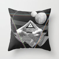 triforce Throw Pillows featuring Triforce by Bambi
