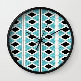 Midcentury Modern Pattern Wall Clock