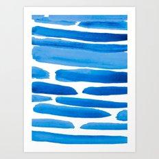 Blue Bayou Art Print