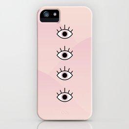 4 Seeing Eyes iPhone Case