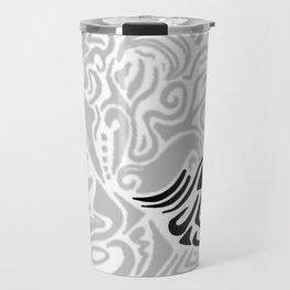 Line art Jellyfis Travel Mug
