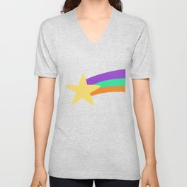 Mabel Star Unisex V-Neck
