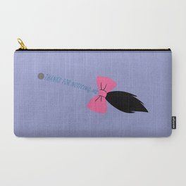 Thanks for Noticing Me (Blue Version) Carry-All Pouch