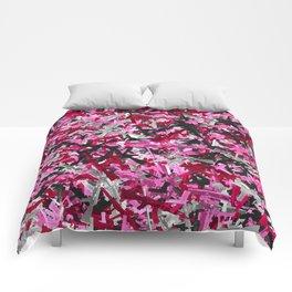 Pink guns camo Comforters