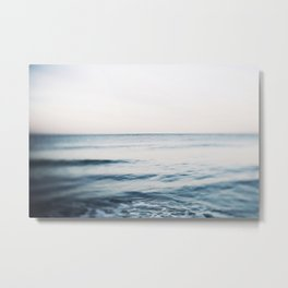 Tide Water Metal Print