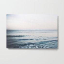 Tide Water Metal Print