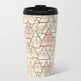 Pattern Houses Travel Mug