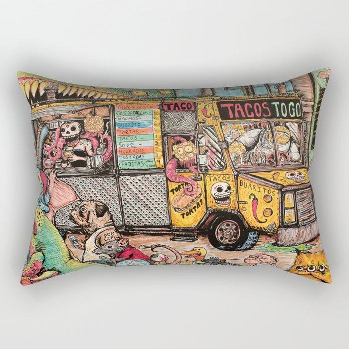 Taco Truck Rectangular Pillow