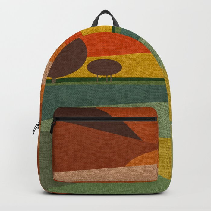 ABSTRACT SUNSET Backpack
