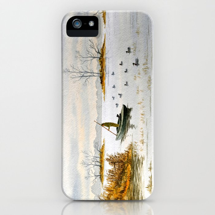 Duck Hunting - The Island Duck Blind iPhone Case