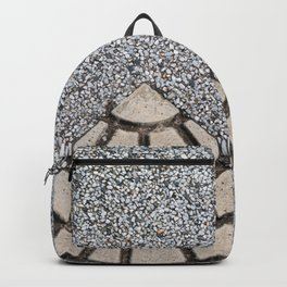 Pattern on floor Backpack