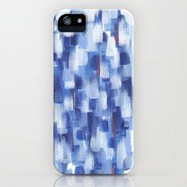 Rainy Crowd iPhone Case